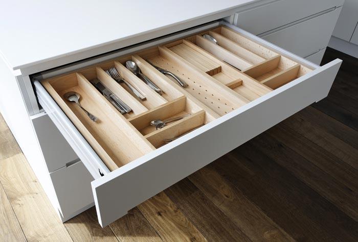 Küchenschublade-Besteck