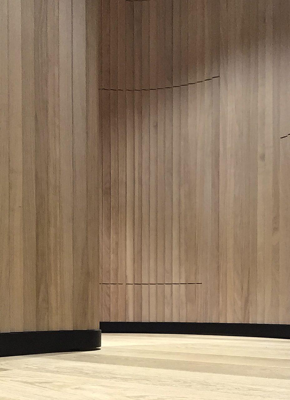 Privatbereich Wand im Detail