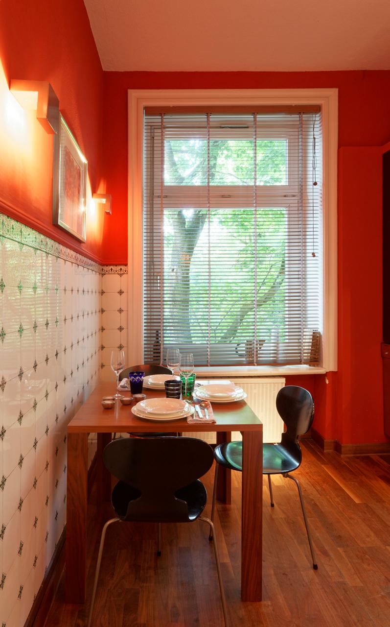 Foto: Küche mit viel Stil auf wenig Fläche