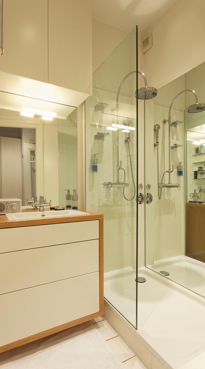 Foto: Das Bad, zwei Quadratmetern Grundfläche mit jeglichen Komfort
