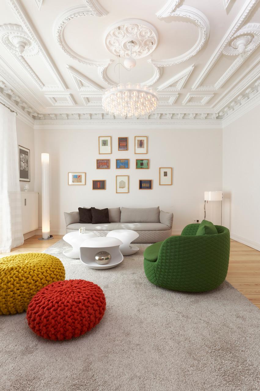 Foto: Blick ins Wohnzimmer